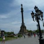 Christoffer Columbus statyn. Barcelona