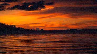 Milleniets sista solnedgång. Pagemba
