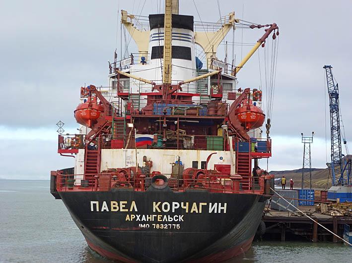 Hamnen. Barentsburg