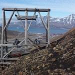 Rest av kolbanan. Longyearbyen