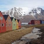 Bostadshus. Longyearbyen