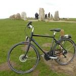 Cykling på Österlen. Ale stenar