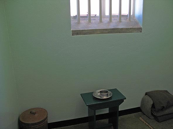 Nelson Mandelas cell. Robben Island (U)