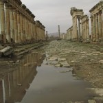 Romerska ruinerna. Apamea