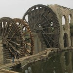 Vattenhjul. Hama