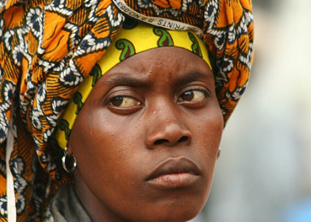 Marknadskvinna. Arusha