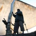 Seglats med dhow till Zanzibar