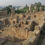 Puniska ruiner. Kartago (U)