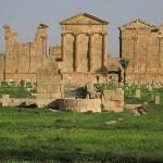 Romerska tempel. Sbeitla