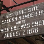 Här sköts Wild Bill Hickock