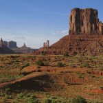 Vy från Monument Valley