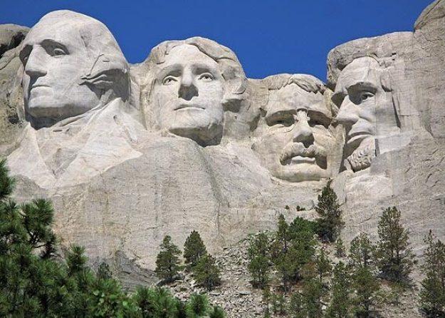 Presidenterna. Mount Rushmore