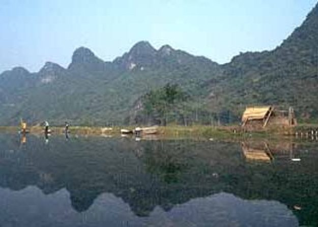 Vattenlandskap. My Duc