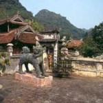 Tempel på ö. My Duc