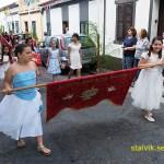 Religiös procession. Ribeira Grande