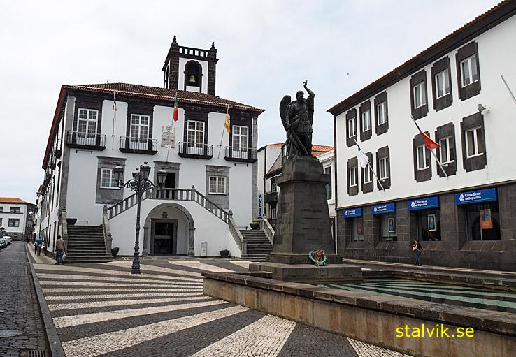 Stadshuset. Ponta Delgada