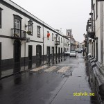 Huvudgatan. Ribeira Grande