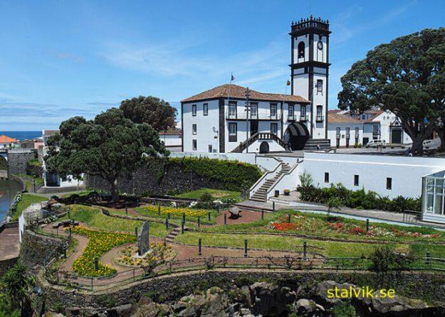 Stadshuset. Ribeira Grande