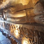 Grottemplen. Ajanta. Indien