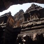 Grottemplet Kailasa. Ellora. Indien