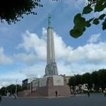 Fredsmonumentet. Riga