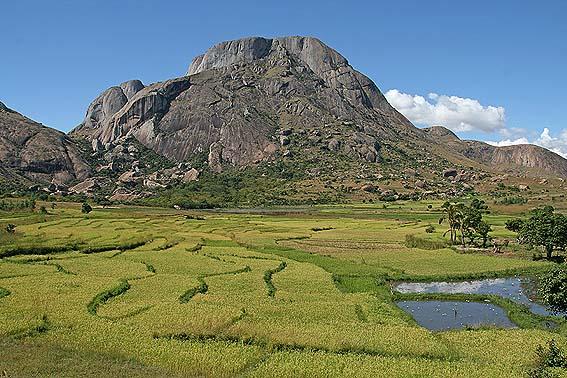Landskap. Södra Madagaskar