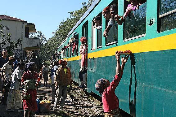 Tågresa i inlandet