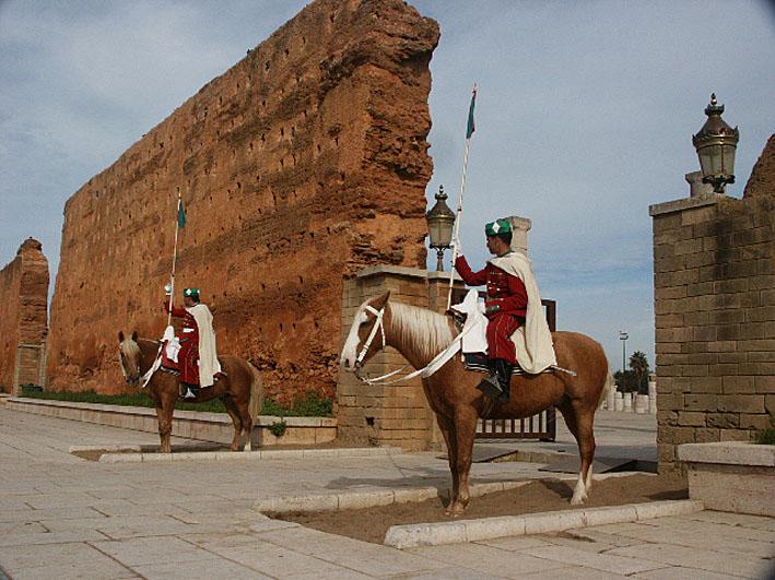 Kunglig vakt. Rabat (U)