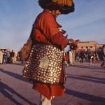 Vattenförsäljare. Djema el-Fna. Marrakech
