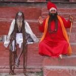 Heliga män. Kathmandu