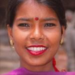 Ung kvinna. Kathmandu