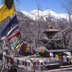 Den heliga byn Muktinath, 3 800 möh