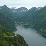 Geirangerfjorden. Geiranger