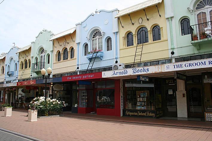 Stadsmiljö. Christchurch