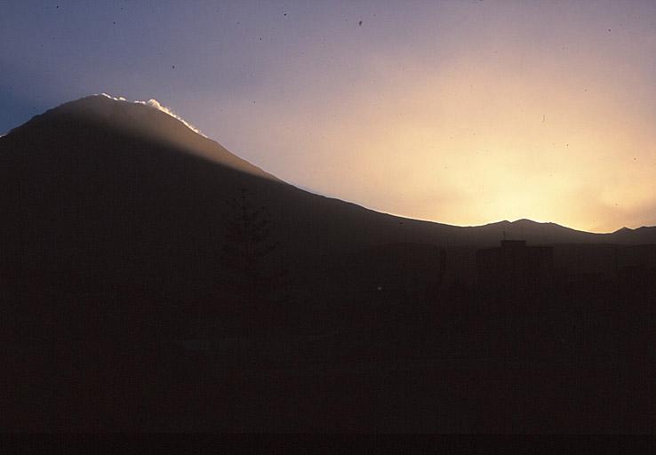 En av vulkanerna. Arequipa