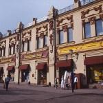 Sekelskifteshus. Irkutsk