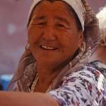 Leende kvinna. Irkutsk
