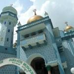 Malabar moskén. Singapore