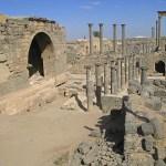 Romerska ruiner. Bosra (U)