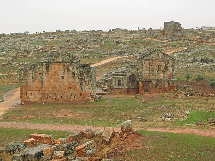 """Serjilla, en av de """"döda"""" städerna (U)"""