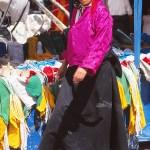 Tibetansk kvinna. Lhasa