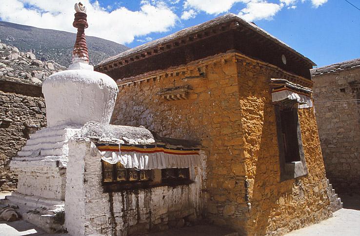 Sera klostrets äldsta del