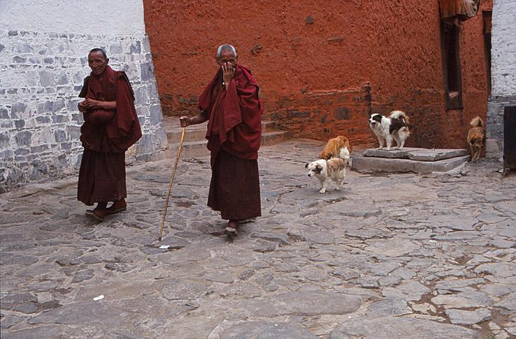 Tashilhunpo klostret. Shigatse