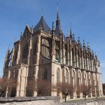 St:a Barbaras katedral. Kutna Hora. Tjeckien