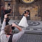 Bröllopsfotografer. Prag