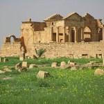 Romerska ruiner. Sbeitla
