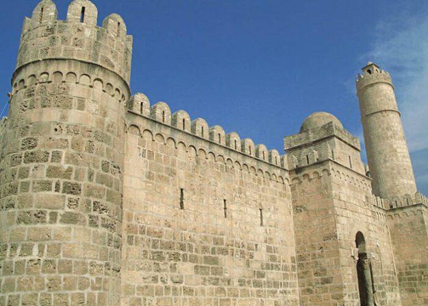 Stadsmuren. Sousse (U)