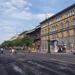 Andrassy utca. Budapest. Ungern
