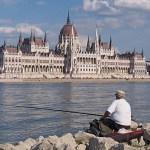 Parlamentet. Budapest. Ungern
