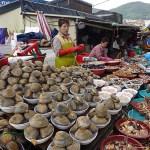 Landets största fiskmarknad. Busan